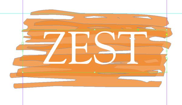 zest in white