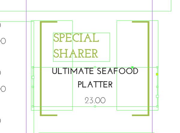 how to create menu card