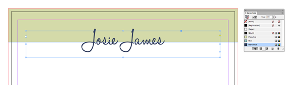 name text