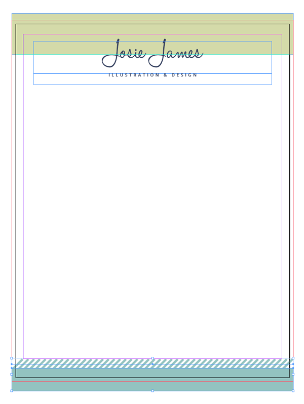 create a branded resum u00e9  letterhead and business card in adobe indesign