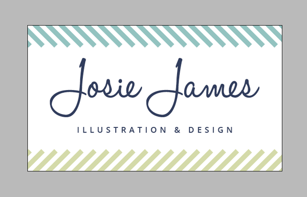 final business card