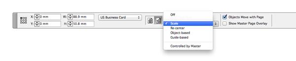 scale menu