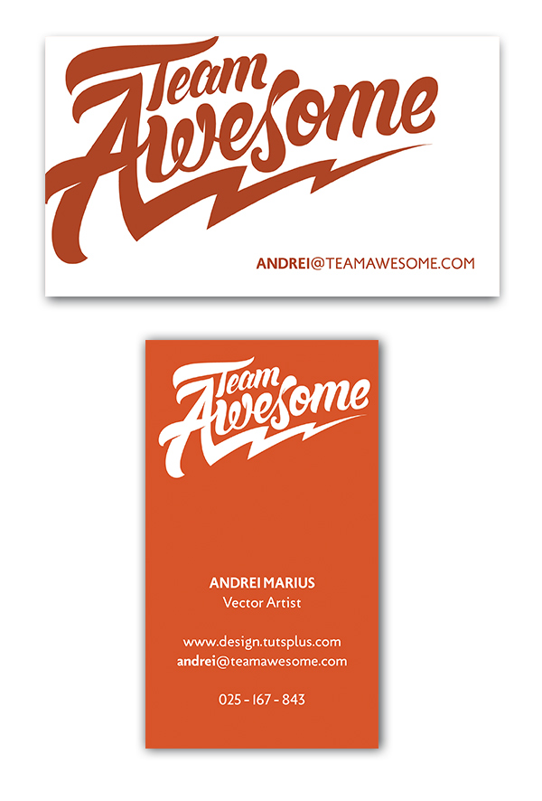 andreis business card