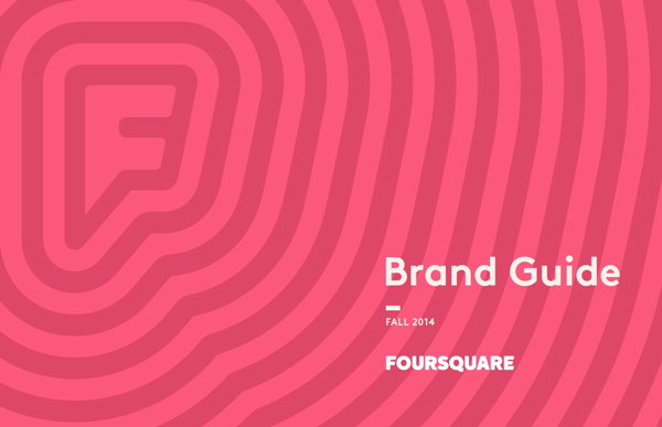 foursquare brand guide cover