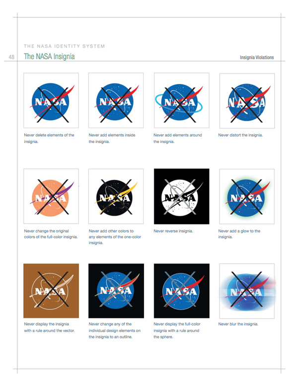 nasa forbidden logos