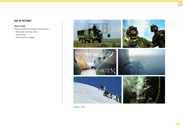 swedish armed forces permitted photography