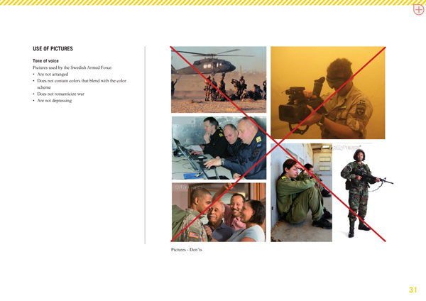 swedish armed forces forbidden images