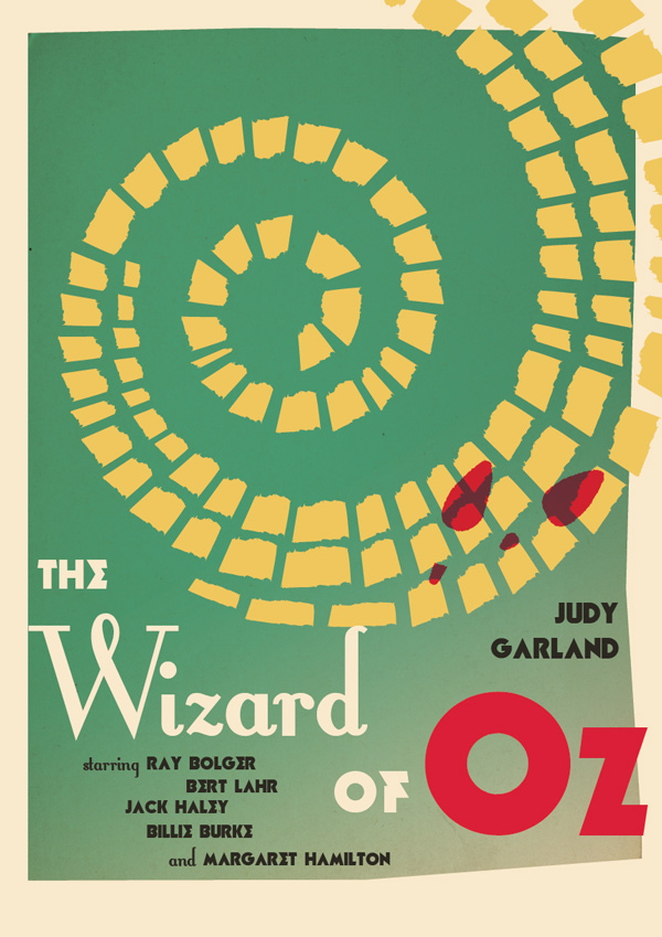 Design A Vintage Wizard Of Oz Movie Poster In Adobe InDesign
