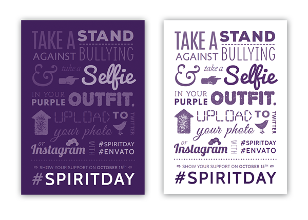 Create a Cool Typographic Poster Ready for Spirit Day in Adobe InDesign!