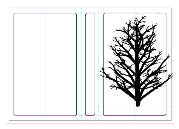 pasted tree