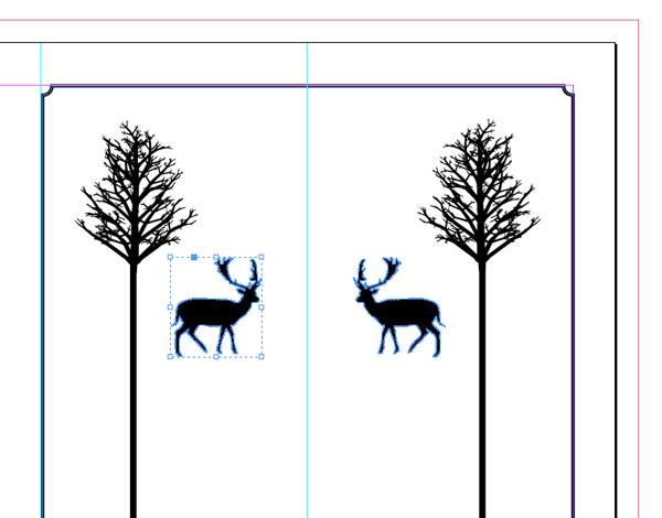 flipped deer