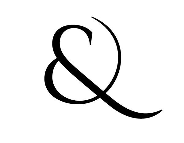 cinzel ampersand