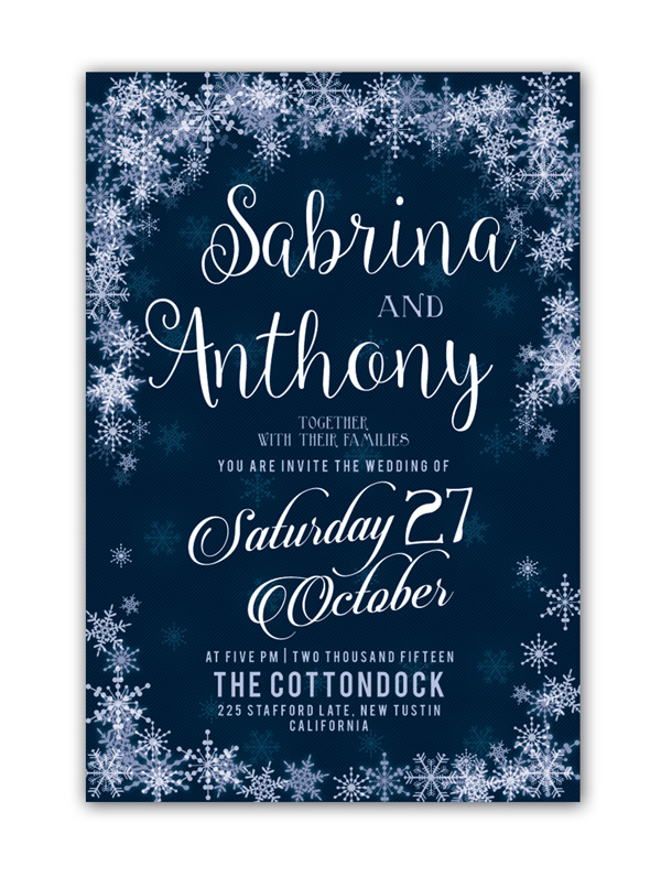 10 design tips for creating amazing wedding invitations winter invite winter wedding invitation stopboris Gallery