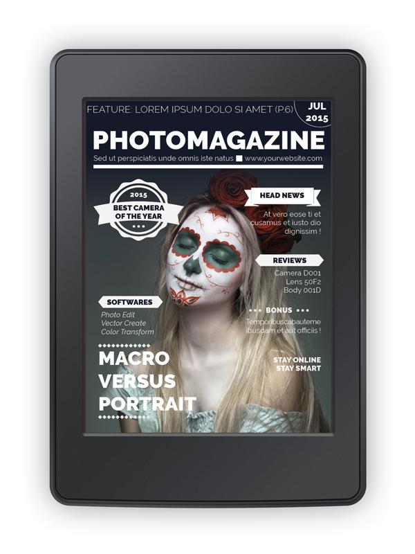 emagazine cover