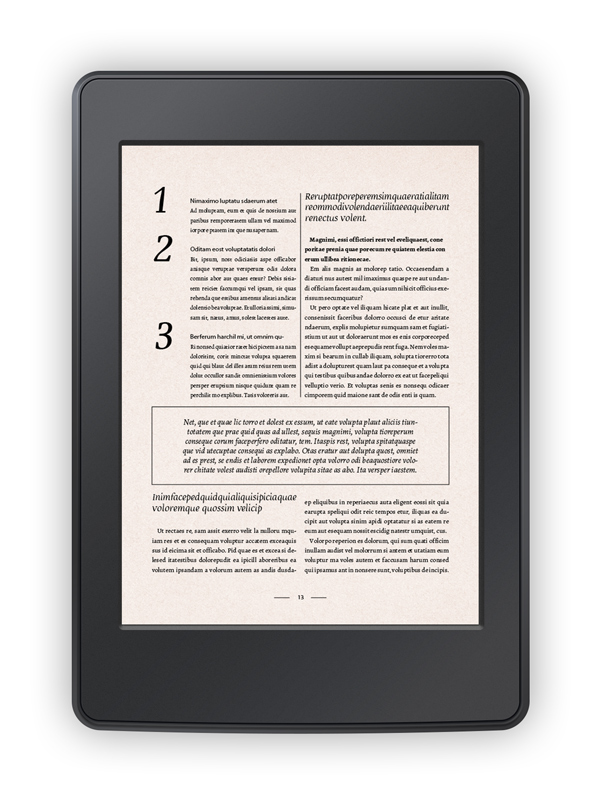 Epub Template. 67 best ebook templates indesign epub format to ...