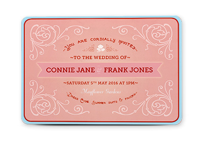 To create a vintage wedding invitation in adobe indesign how to create a vintage wedding invitation in adobe indesign stopboris Choice Image