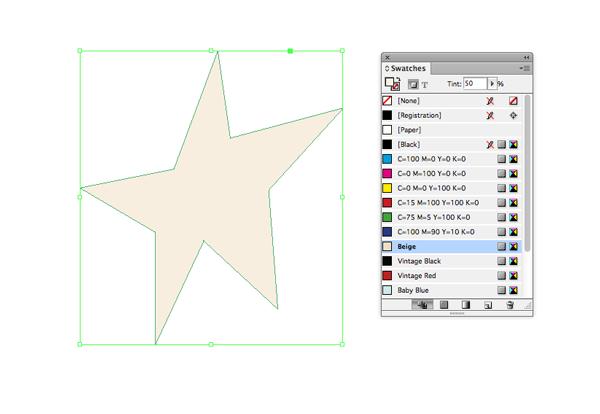 pen tool star