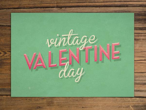 vintage valentines mint