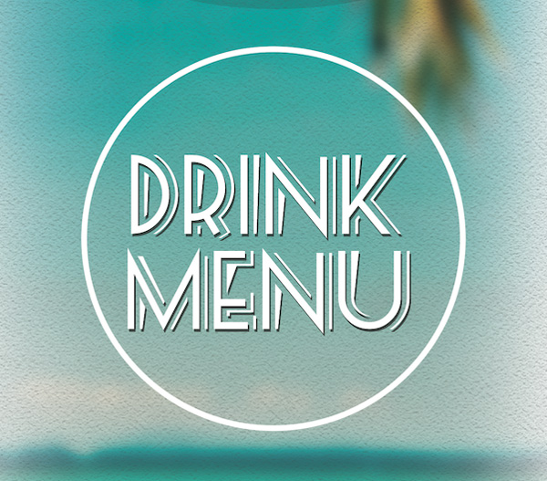 drink menu logo