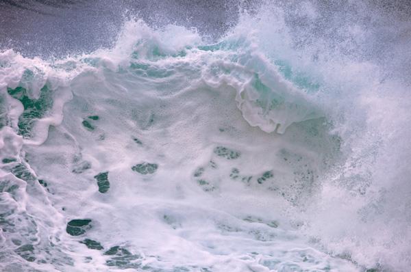 sea foam photo