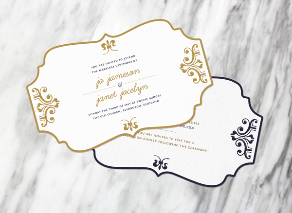 How to Create a Wedding Invitation With Cool Post-Print Effects