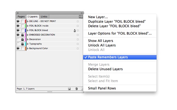 paste remembers layers