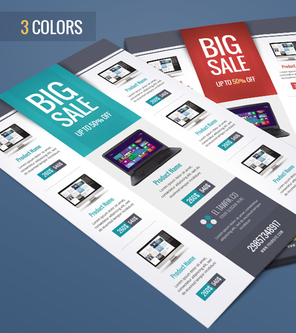 sales brochure templates - 10 design tips to make a professional business flyer