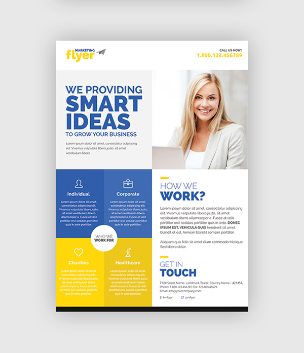 10 design tips to make a professional business flyer friendly flyer friendly flyer template cheaphphosting Image collections