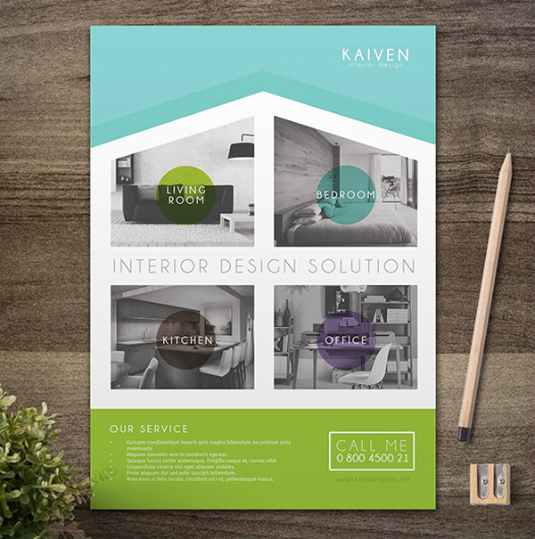 10 design tips to make a professional business flyer Graphic design for interior designers