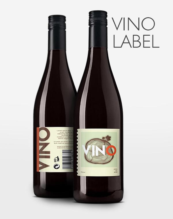 vino labels