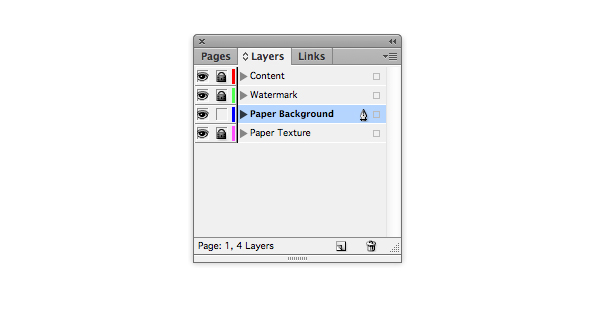 paper background layer