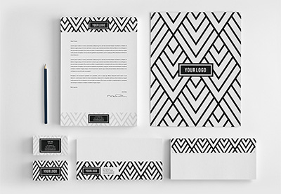 10 Business Letterhead Design Tips (With Killer Brand Identity Examples)  Business Letterhead Samples