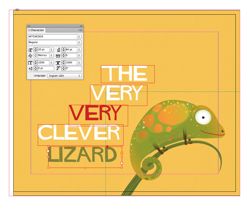 lizard text