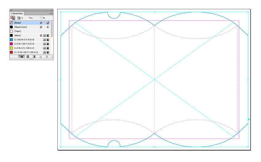 How to create a die cut pillow box in adobe indesign for Adobe illustrator packaging templates
