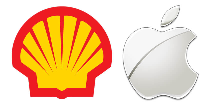brandmarks shell apple