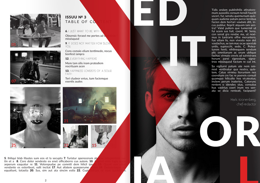 How to Make a Magazine: From a Creative InDesign Template