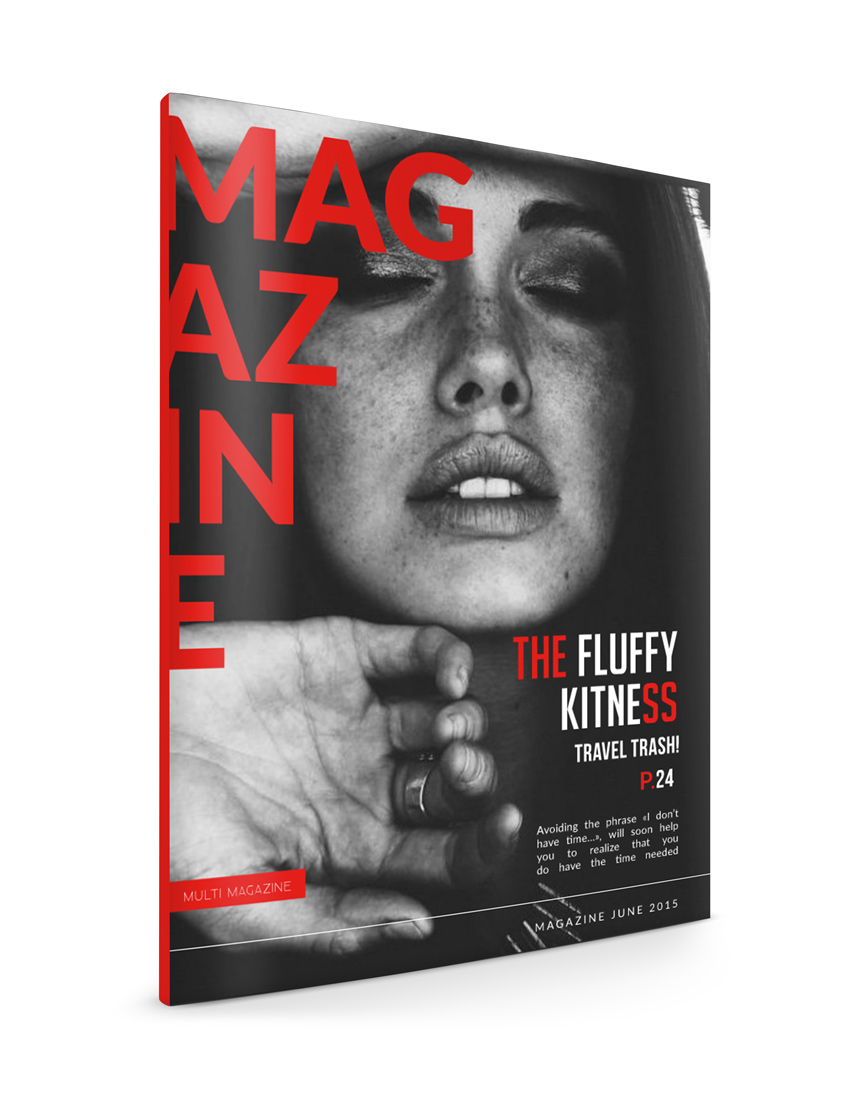 Como crear una revista a partir de una plantilla