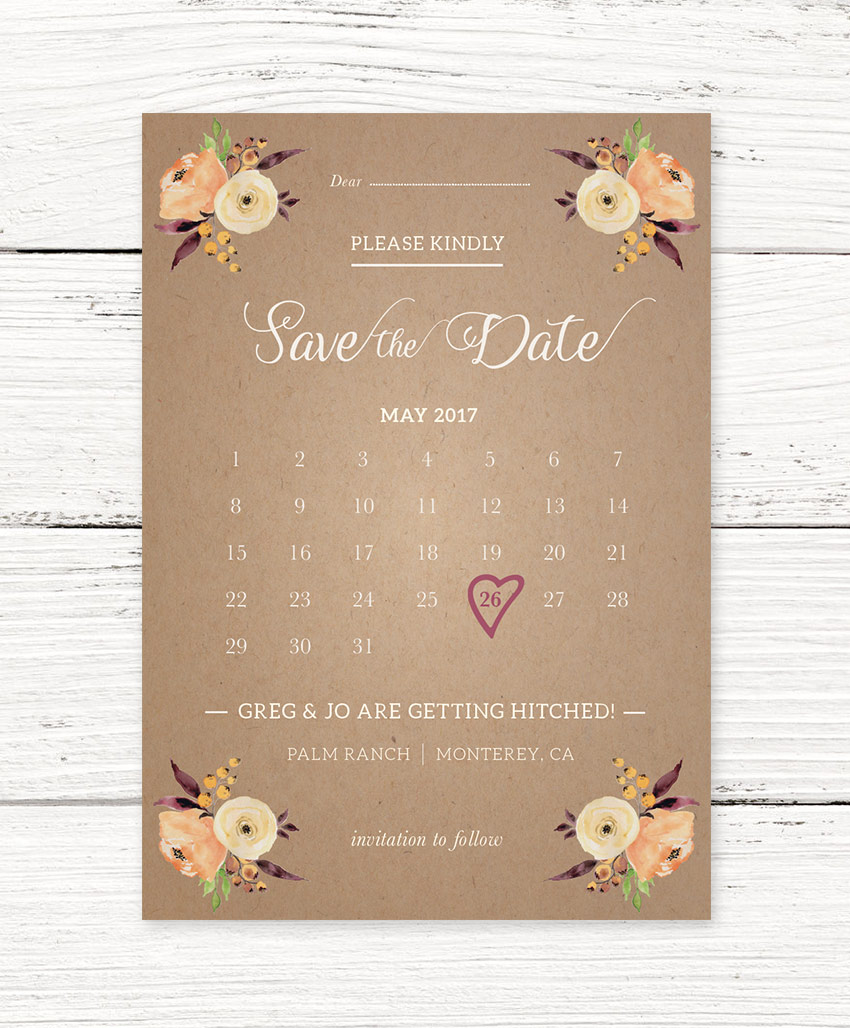 How to create a stylish save the date card in adobe indesign still looking for that elusive perfect save the date card or wedding invite pay a visit to envato market youll find a huge range of professional stopboris Choice Image