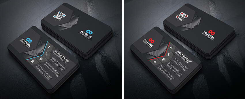 black tech cards