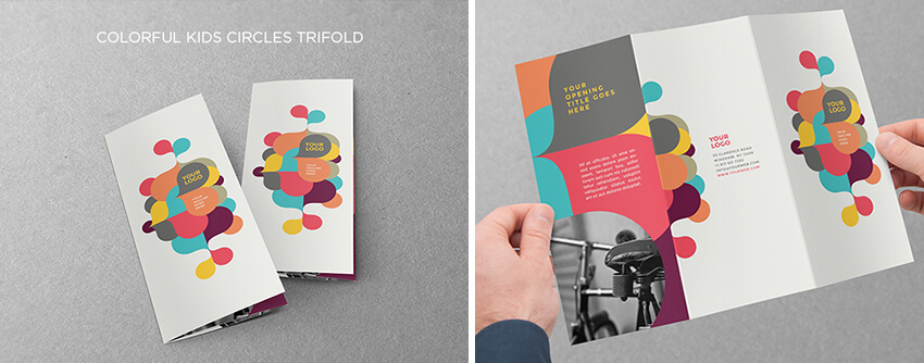 TimeSaving Print Templates For Adobe InDesign Photoshop - Fancy brochure templates