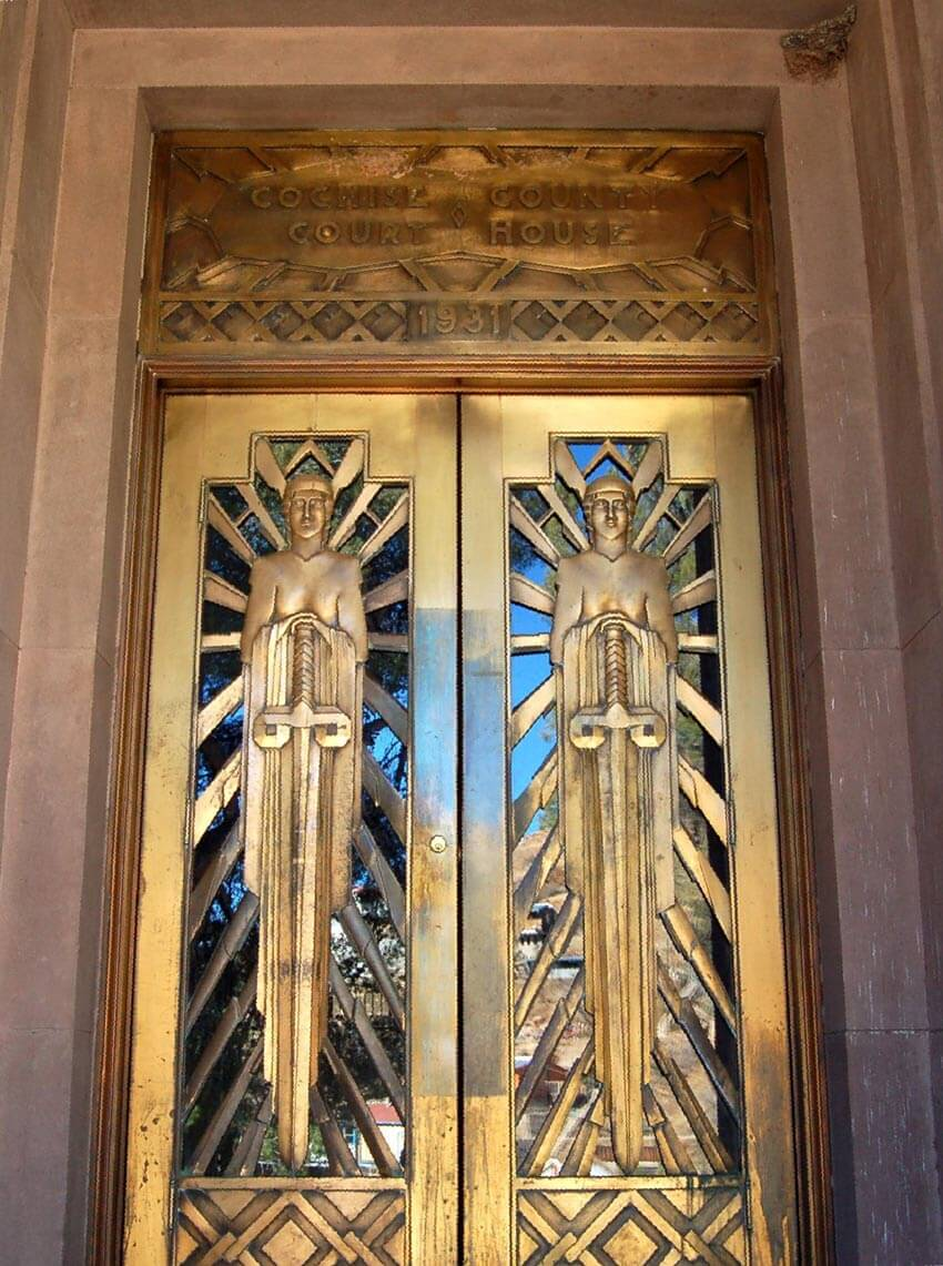 art deco court doors