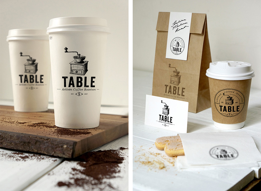 coffee branding  How to Design a New Brand Identity for Your Business 1