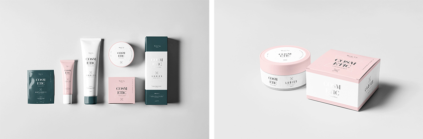 cosmetics branding  How to Design a New Brand Identity for Your Business 1
