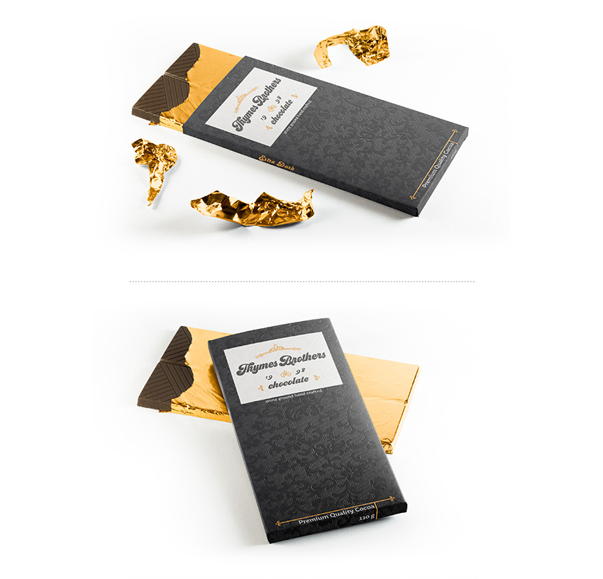 chocolate branding bars  How to Design a New Brand Identity for Your Business 2