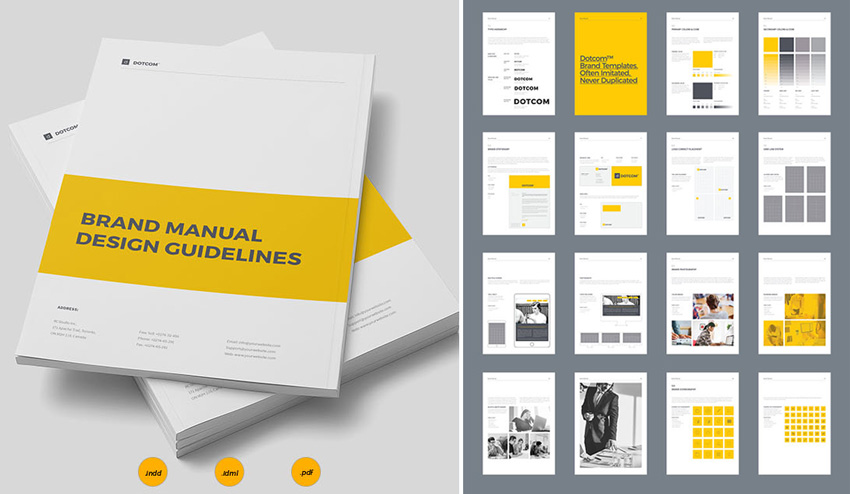 brand manual  How to Design a New Brand Identity for Your Business 9