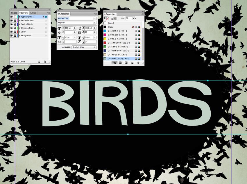 birds text