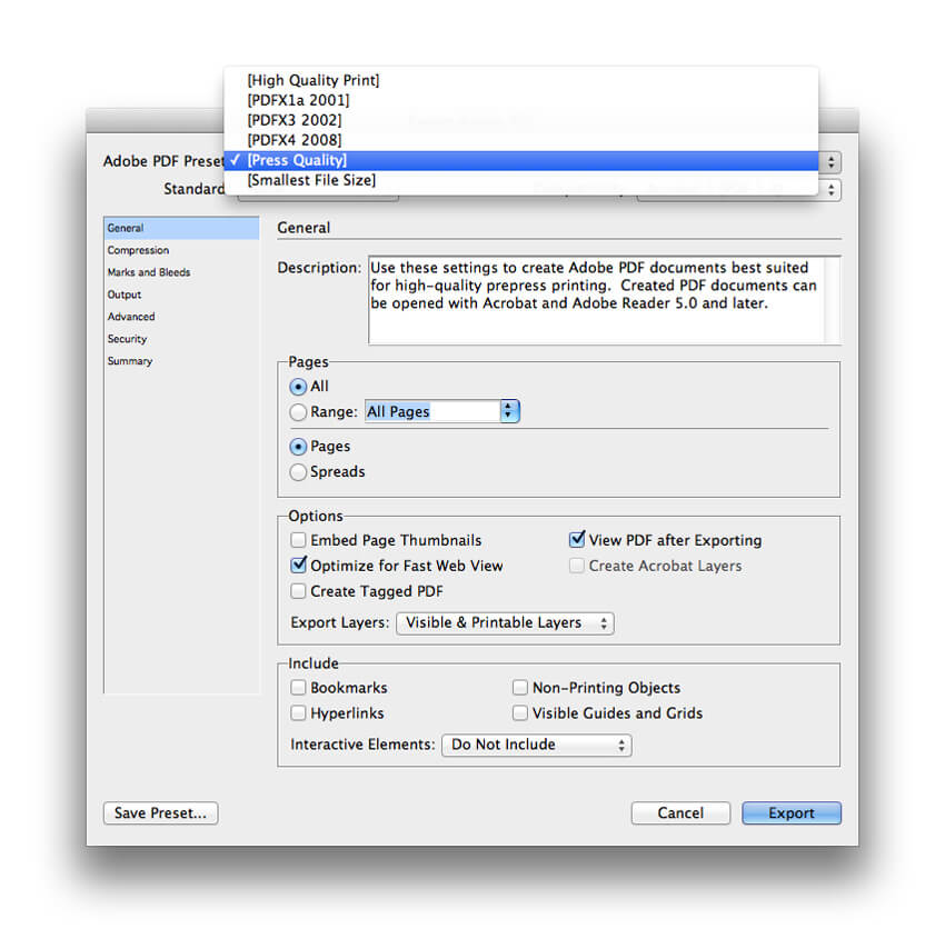 can you save indesign files as pdf