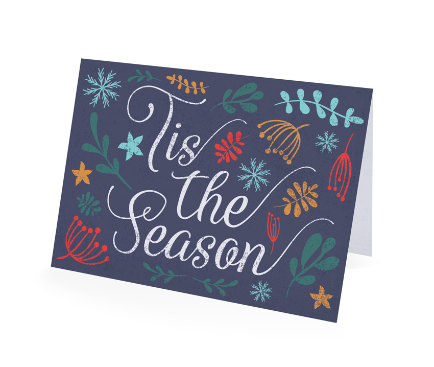How to create a festive greetings card in adobe indesign final card reheart Choice Image