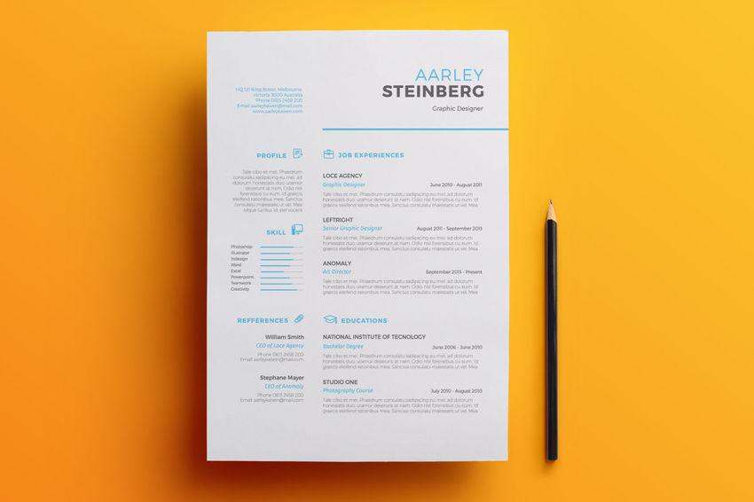 50 Professional Resume Cv Templates