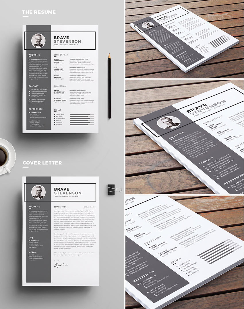 50  professional resume  u0026 cv templates